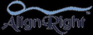 Align Right Pillow Logo