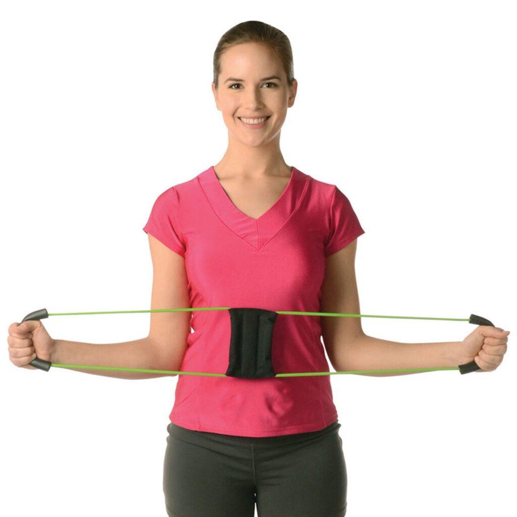 Girl Using Posture Medic